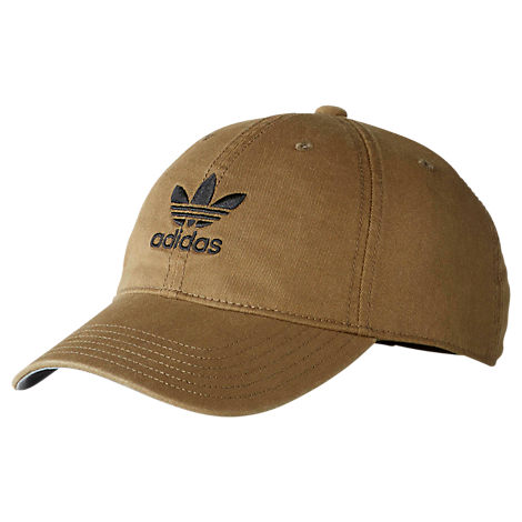 8b4abf3af5d Adidas Originals Originals Precurved Washed Strapback Hat