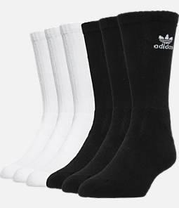 adidas Trefoil 6-Pack Cushioned Socks