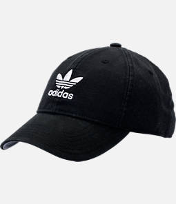 adidas Originals Precurved Washed Strapback Hat Product Image