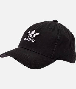 Women s adidas Originals Precurved Washed Strapback Hat fc5fba4b1a4