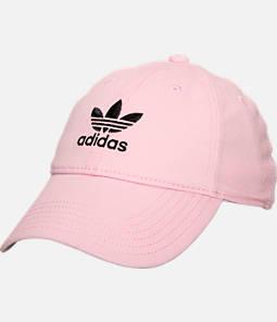 Women's adidas Originals Precurved Washed Strapback Hat Product Image
