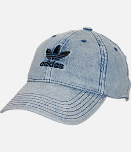 Women's adidas Originals Precurved Washed Strapback Hat