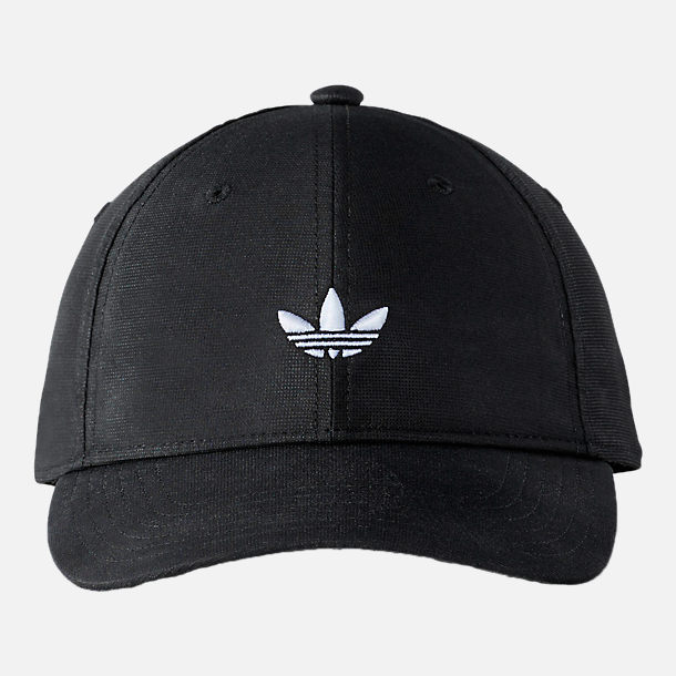 Back view of Men's adidas Originals Modern Relaxed Hat in Black