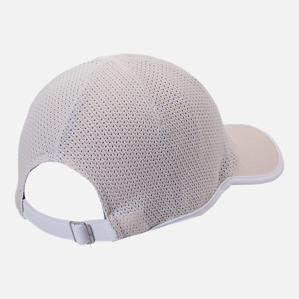 Back view of Men's adidas Originals Primeknit Strapback Hat in Clear Brown/White