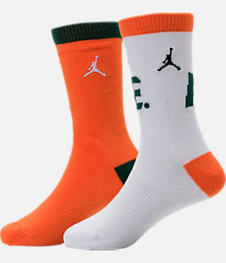 Kids' Jordan Like Mike 2-Pack Crew Socks Product Image