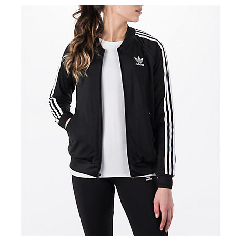 Women'S Originals Superstar Track Jacket, Black