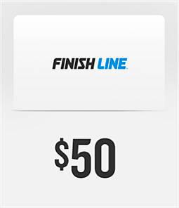 reputable site 1b8e1 0679f Finish Line Gift Card  Finish Line