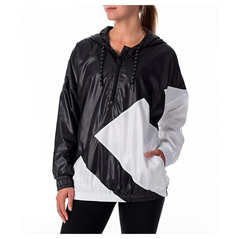 low priced 63025 395a5 Adidas Originals Women S Originals Eqt Blocked Windbreaker, Black