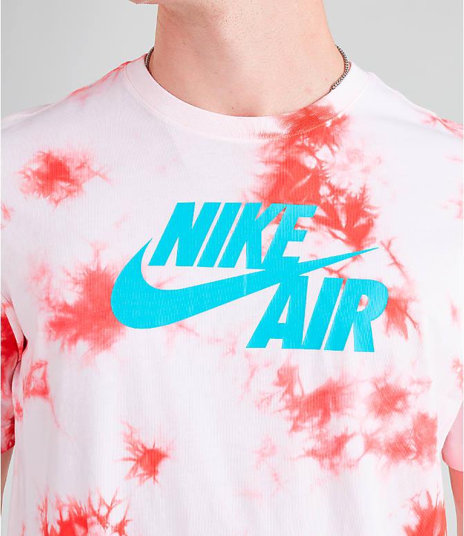 9789e877 Detail 1 view of Men's Nike Air Tie-Dye T-Shirt in White/