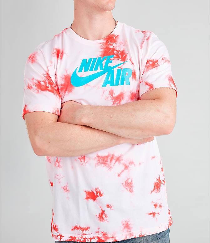 d266646e Detail 2 view of Men's Nike Air Tie-Dye T-Shirt in White/
