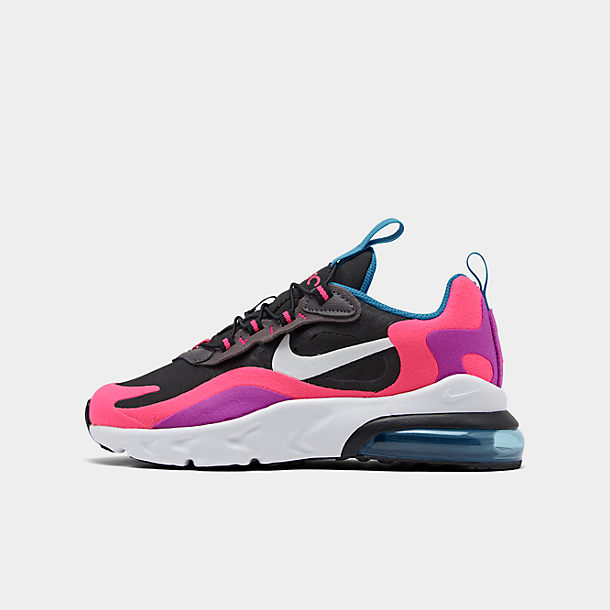 official first look speical offer Girls' Little Kids' Nike Air Max 270 React Casual Shoes