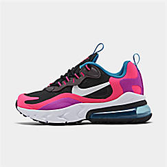 Girls' Big Kids' Nike Air Max 270 React Casual Shoes
