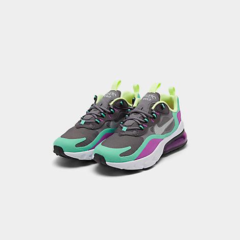 Girls' Big Kids' Nike Air Max 270 React Casual Shoes