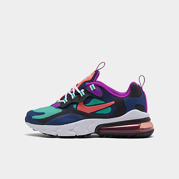 Girls' Big Kids' Nike Air Max 270 React SE Casual Shoes