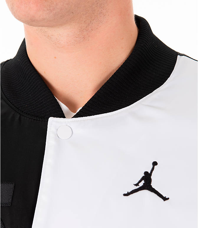 uk availability 11a80 f5459 Detail 2 view of Men s Jordan Sportswear Legacy AJ11 Bomber Jacket in White