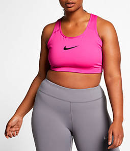 Women's Nike Swoosh Medium-Support Sports Bra - Plus Size