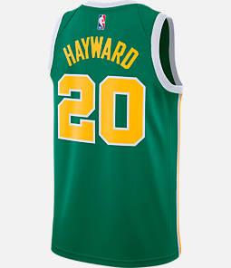 Men's Nike Boston Celtics NBA Gordon Hayward Earned Edition Swingman Jersey