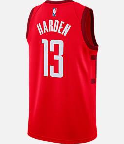 Men's Nike Houston Rockets NBA James Harden Earned Edition Swingman Jersey