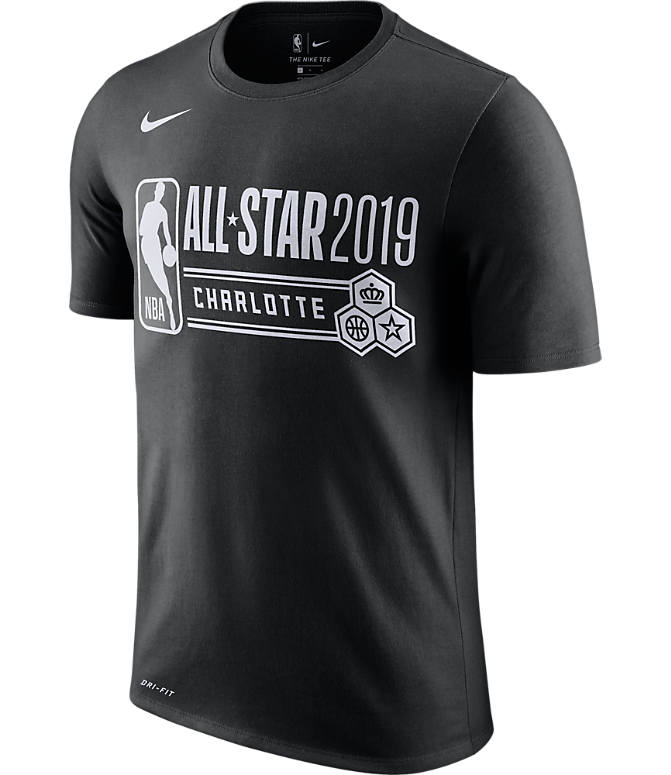 09c50633c7 Front view of Men s Nike Dri-FIT NBA All-Star Weekend 2019 Logo T
