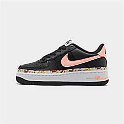 Girls' Big Kids' Nike Air Force 1 Vintage Floral Casual Shoes