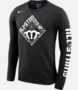Men's Nike Dri-FIT NBA All-Star Weekend 2019 Logo Long-Sleeve T-Shirt