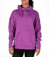 Women's Reebok Cowl Neck Fleece Training Sweatshirt