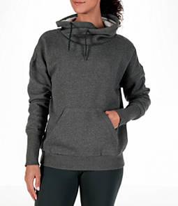 Women's Reebok Cowl Neck Fleece Training Sweatshirt
