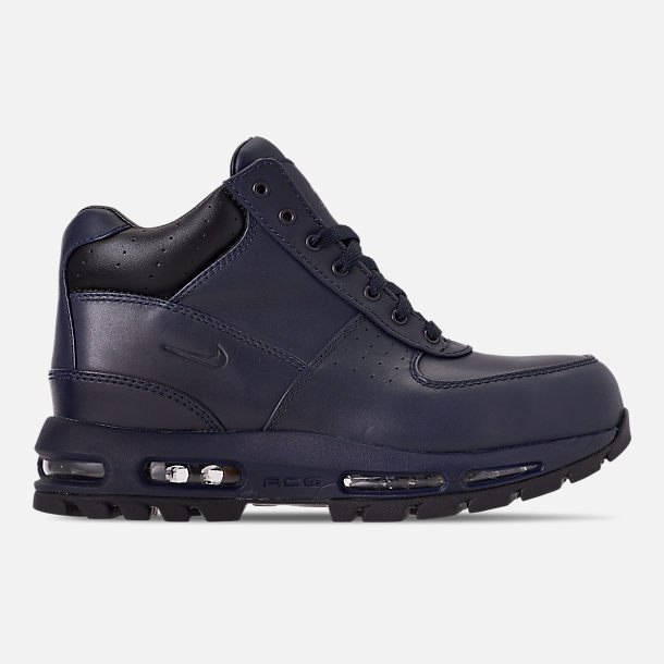 Right view of Men's Nike Air Max Goadome Boots in Obsidian/Black