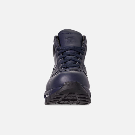 Front view of Men's Nike Air Max Goadome Boots in Obsidian/Black