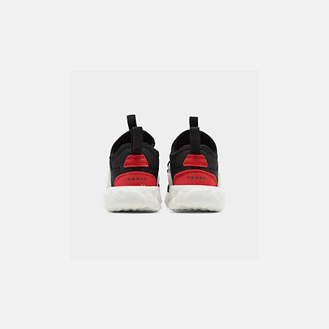 purchase cheap 73945 62bb0 Back view of Kids  Toddler Nike React Presto Running Shoes in Black Phantom