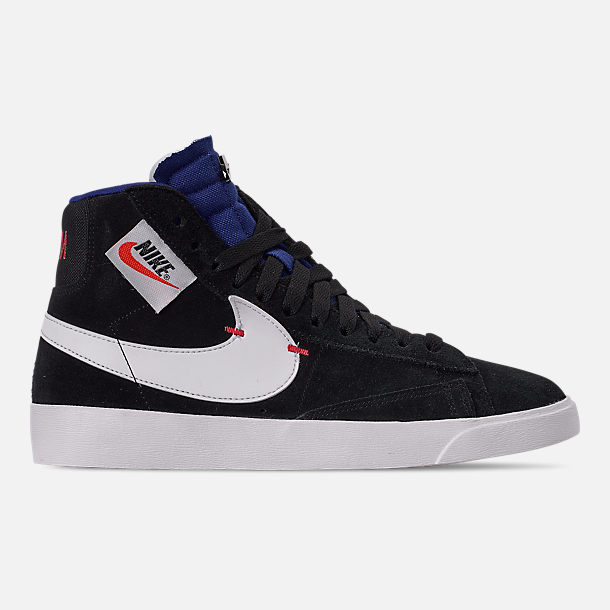 newest collection 0050e 741dd Right view of Women s Nike Blazer Mid Rebel Casual Shoes in Black Summit  White