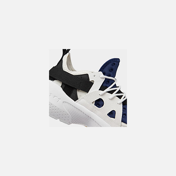 Front view of Men's Nike Huarache Type Running Shoes in Summit White/University Red/Deep Royal