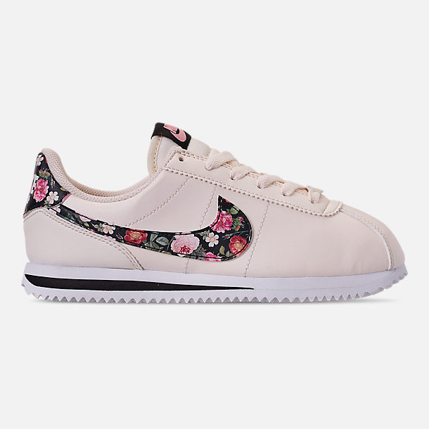 quality design 8ec1e 554b6 Girls' Big Kids' Nike Cortez Basic Leather Casual Shoes