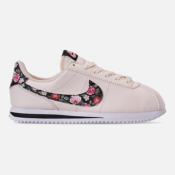quality design 91ce8 c15b7 Girls' Big Kids' Nike Cortez Basic Leather Casual Shoes
