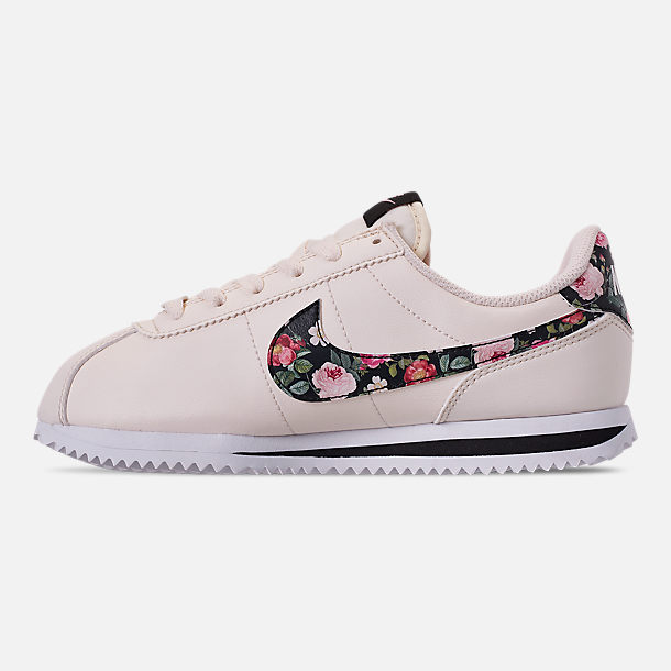 quality design 0970a 7b30a Girls' Big Kids' Nike Cortez Basic Leather Casual Shoes
