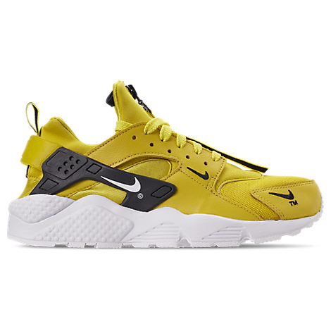 Men'S Huarache Premium Zip Casual Shoes, Yellow