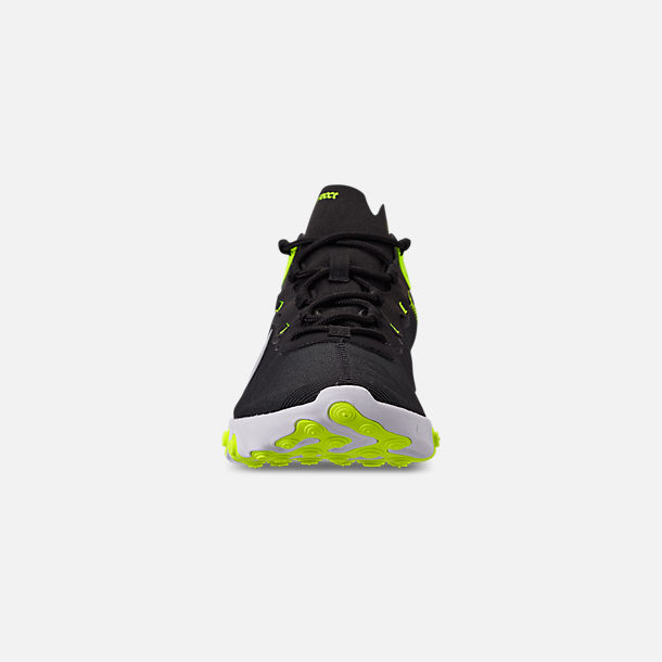 lower price with cec9e 6d349 Front view of Men s Nike React Element 55 Casual Shoes in Black Wolf Grey