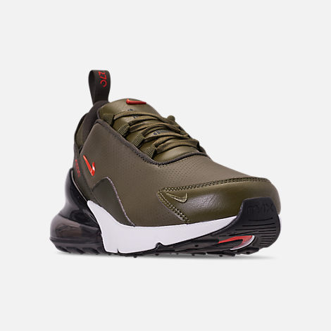 Men's Nike Air Max 270 Premium Leather Casual Shoes by Nike