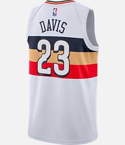 50f2a7c439c Men s Nike New Orleans Pelicans NBA Anthony Davis Earned Edition Swingman  Jersey