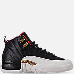 Big Kids' Air Jordan Retro 12 Chinese New Year Basketball Shoes