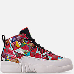 Little Kids' Air Jordan Retro 12 Chinese New Year Basketball Shoes