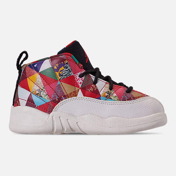 b5488e3df8bdc7 Right view of Kids  Toddler Air Jordan Retro 12 Chinese New Year Basketball  Shoes in