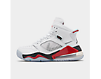 White/Reflect Silver/Fire Red/Black