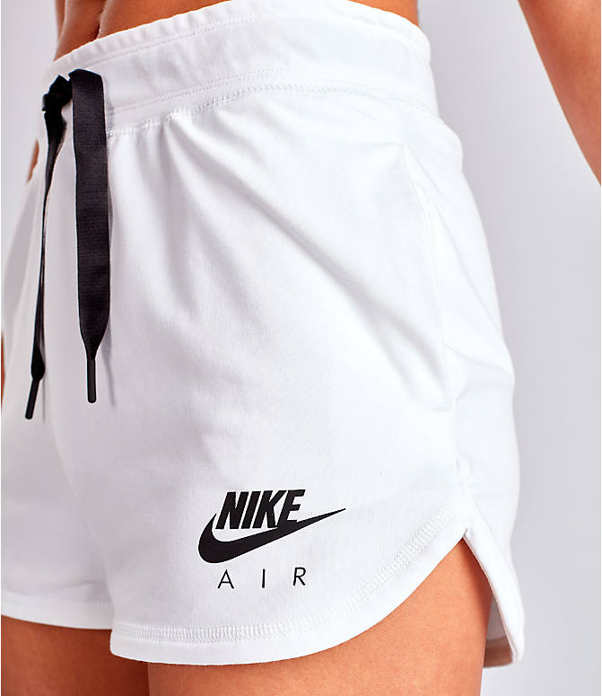 Detail 1 view of Women's Nike Air Shorts in White