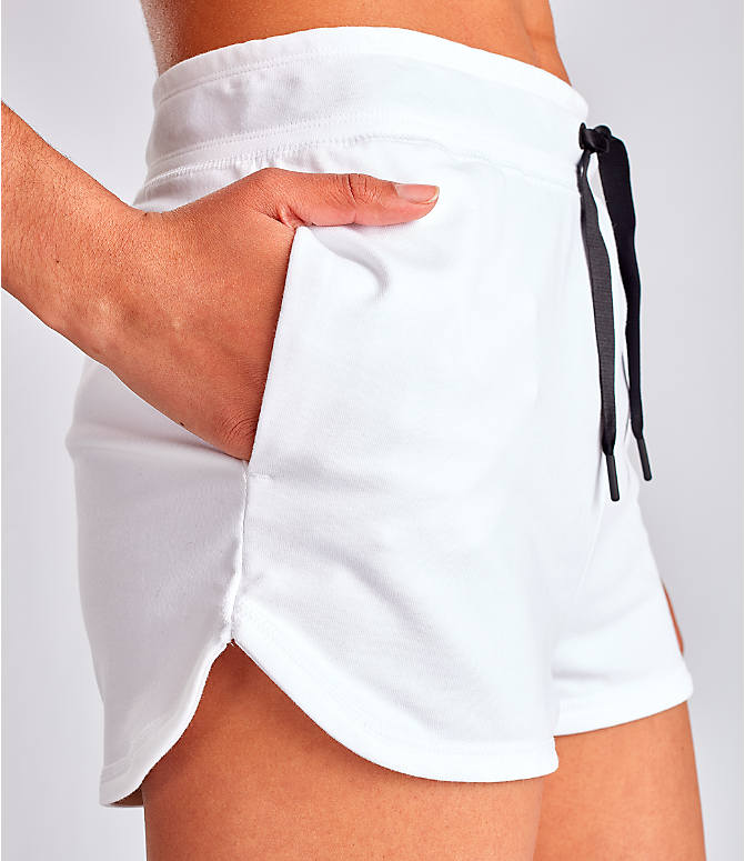 Detail 2 view of Women's Nike Air Shorts in White
