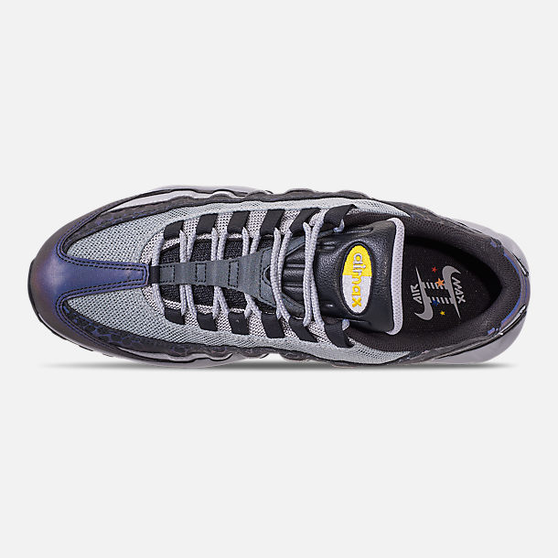 Top view of Men s Nike Air Max 95 SE Reflective Casual Shoes in Off Noir  dc4455ceeff8a