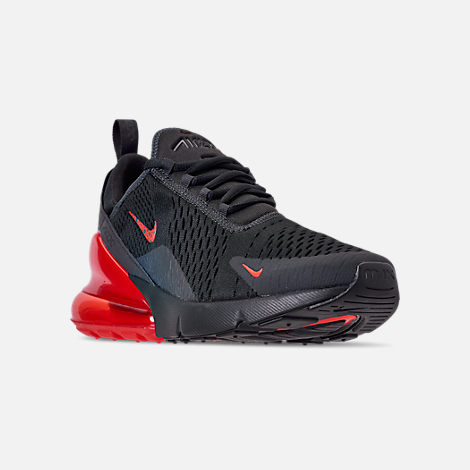 0fe5a160c5 Three Quarter view of Men's Nike Air Max 270 SE Reflective Casual Shoes in  Off Noir