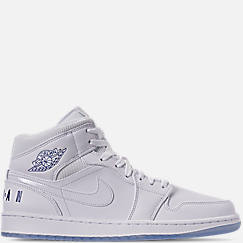Men's Air Jordan 1 Mid Premium Basketball Shoes