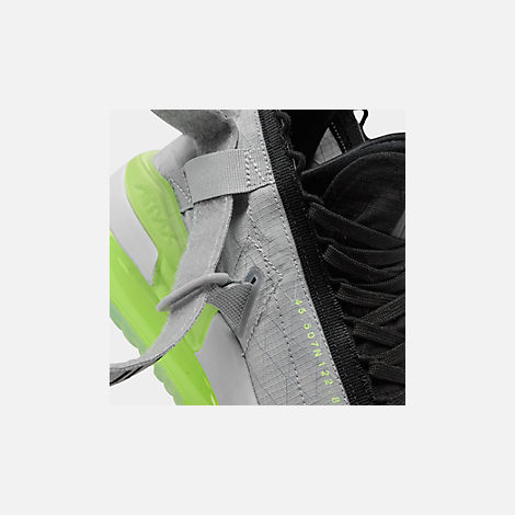 Front view of Men's Jordan Proto-Max 720 Casual Shoes in Wolf Grey/Black/Volt/Pure Platinum