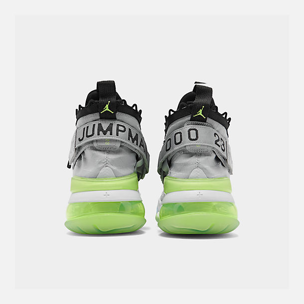 Left view of Men's Jordan Proto-Max 720 Casual Shoes in Wolf Grey/Black/Volt/Pure Platinum